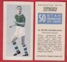 Plymouth Argyle Peter McParland Northern Ireland